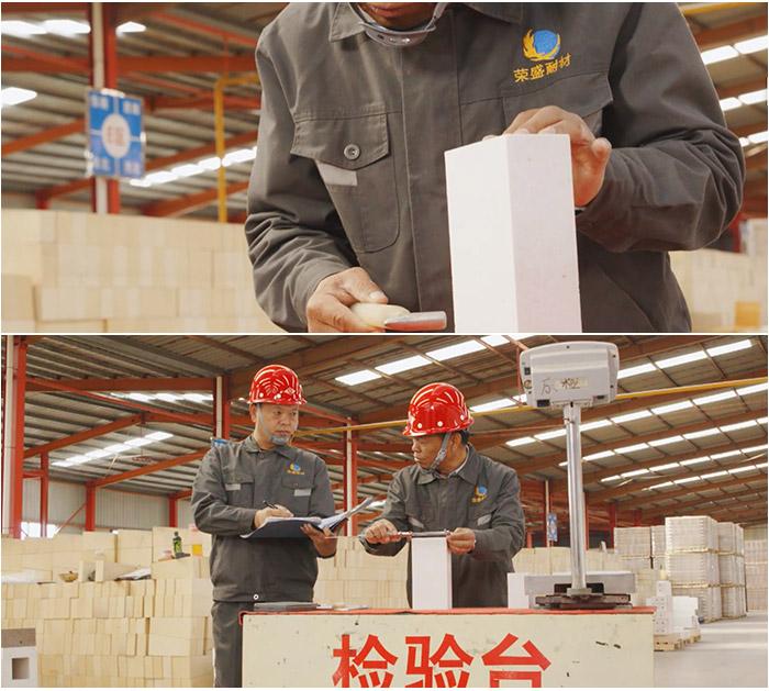 耐火砖质量检查